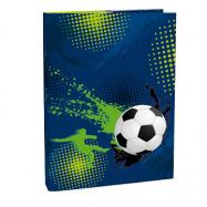 Box na zošity s chlopňou A5 Football 3