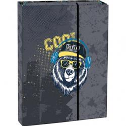 Pudełko na zeszyty z klapką A4 Cool bear
