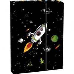 Pudełko na zeszyty klapą A4 Explore