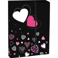 Pudełko na zeszyty z klapką A4 Lovely
