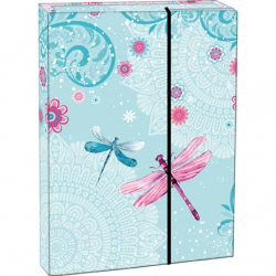 Pudełko na zeszyty Dragonfly A4
