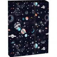 Pudełko na zeszyty z klapką Cosmos A4