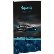 Diář Školák Super Car
