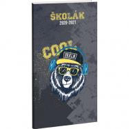 Diář Školák Cool bear