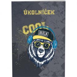 Úkolníček Cool bear