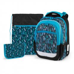 Školský set Indian blue