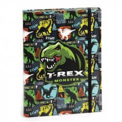 Box na sešity s klopou A4 T-Rex