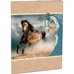 Desky na abecedu Wild horse