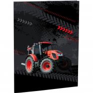 Dosky na abecedu Tractor