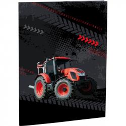 Desky na abecedu Tractor
