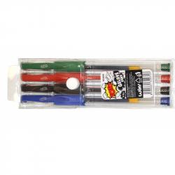 Gélové pero 4ks
