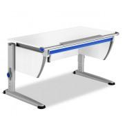 Rostoucí stůl Moll Runner se zásuvkou - barva bílá