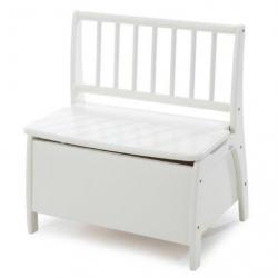 Detská lavička Geuther Bambino s úložným priestorom biela