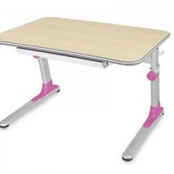 Biurko Junior różowy
