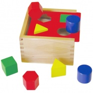 Vkládačka dřevěná tvary