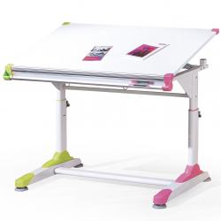 Biurko dla dzieci Collorido - różowy i zielony