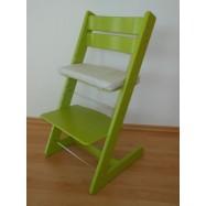Detská rastúca stolička JITRO KLASIK sv. zelená