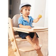 Jídelní a hrací pultík k židli Swing přírodní