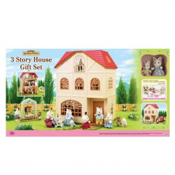 Darčekový set - Trojposchodový dom s príslušenstvom A