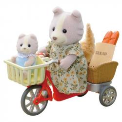 Przejażdżka rowerowa z mamą