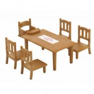 Nábytok - jedálenský stôl so stoličkami