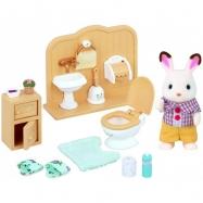 Zestaw z bratem królików z czekoladowymi uszkami (łazienka)