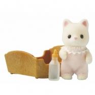 Baby hedvábné kotě