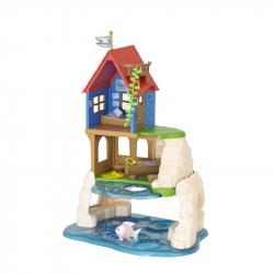 Zábavný hrací domček pri mori
