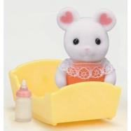 Baby Marshmallow myška s příslušenstvím