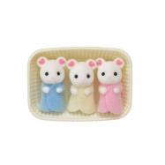 Baby Marshmallow myšky trojčata