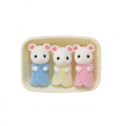 Baby Marshmallow myšky trojčatá