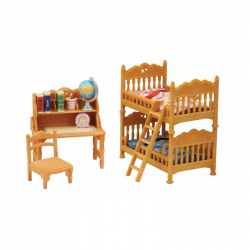 set - detská izba s poschodovou posteľou