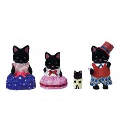 Rodina polnočných mačiek