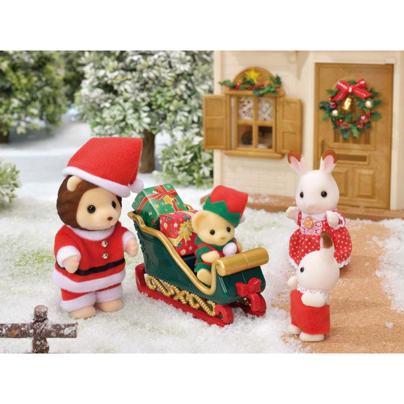 Pan Lev a Vánoční sáně, limitovaná edice