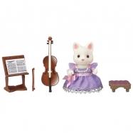 Město - cellistka hedvábná kočka