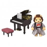 Město - klavírista lev
