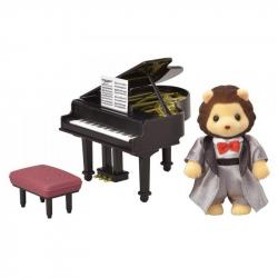 Mesto - klavirista lev