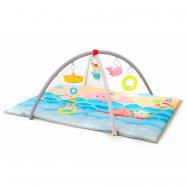 Hrací deka s hrazdou Moře