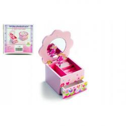 Pudełko z biżuterią dla księżniczek