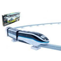 Pociąg z plastikowymi gąsienicami 45szt na bateriach ze światłem z dźwiękiem