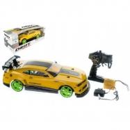 Teddies samochód zdalnie sterowany RC drift, żółty, 40cm, 27MHz