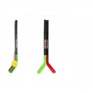 Hokejka 2ks s pukom plast 70cm v sieťke
