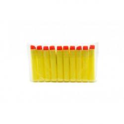 Penové náboje 10ks v sáčku 2 farby