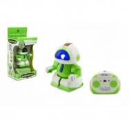 Robot warrior RC plastik 8 cm w radiu bateryjnym ze światłem