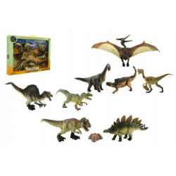 Dinosaurus plast 8 ks v krabici