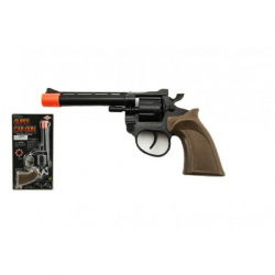 Pistole kapslovka plast 8 ran 20cm na kartě