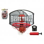 Kôš basketbal + loptu a doplnky plast 40cm v sáčku