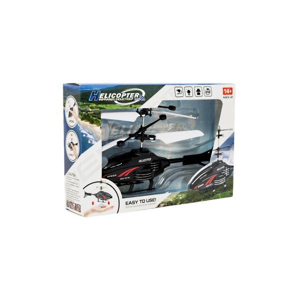 Vrtuľník na ovládanie rukách použitie USB plast 16cm
