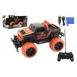 Auto RC buggy plast 27cm 27MHz na batérie + dobíjacie pack v krabici 36x18,5x19cm