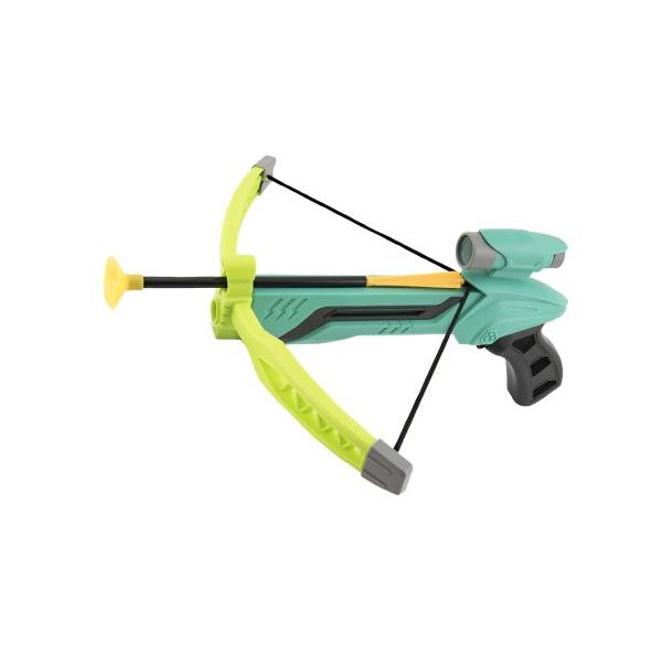 Kusza z łukiem na przyssawki plastikowe 25cm + strzały 3szt